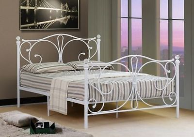 white metal bed1